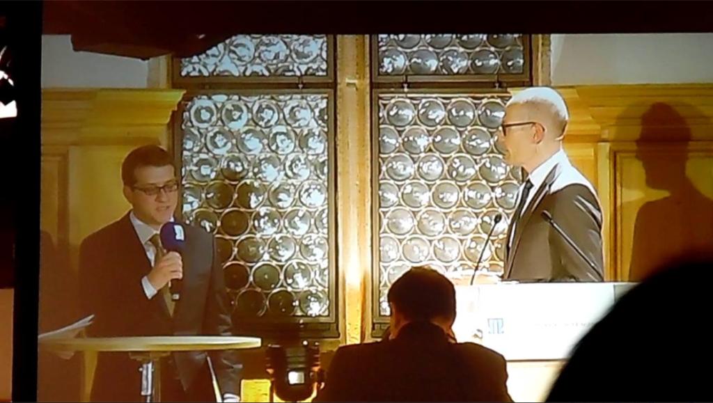 Raul Andreas Glavan Preisverleihung 2014 BdF