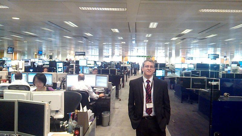 Raul Glavan NY Trading Desk